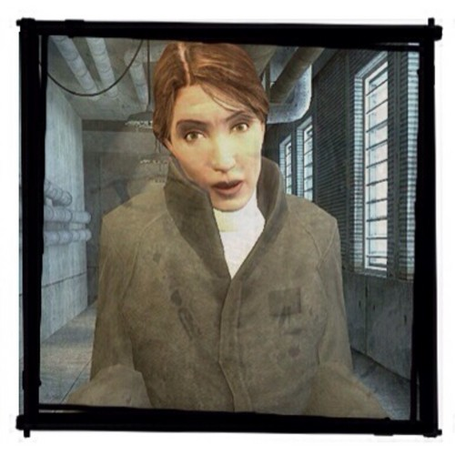 Half Life wallpaper containing a television receiver titled Judith Mossman