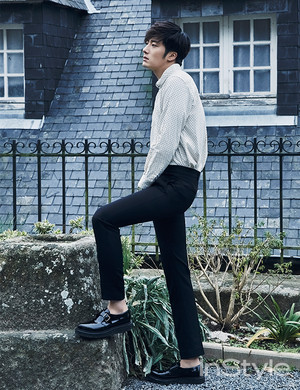 Jung Il Woo - InStyle Korea March 2015