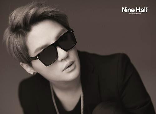Junsu for eyewear brand 'Nine Half'