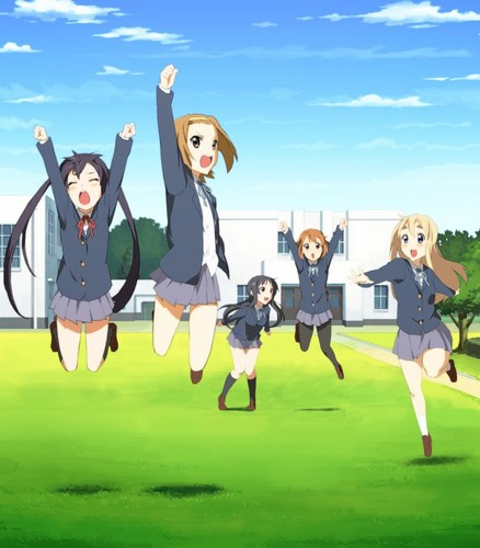 K-ON! 壁纸 with a 便门, wicket called K-ON! Jump