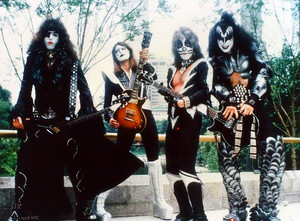 kiss ~Central Park NYC 1976