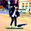 Kal Penn photo containing a business suit and a street called Kal Penn