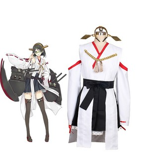 Kantai Collection Kancolle Kirishima Cosplay Costume