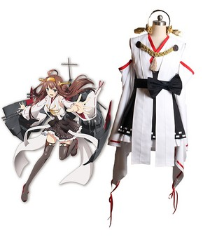 Kantai Collection Kancolle Kongou Cosplay Costume