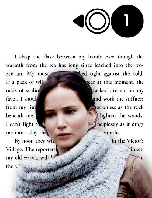 Katniss Everdeen | Catching 火, 消防 - Chapter One