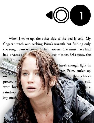 凯特尼斯·伊夫狄恩 壁纸 possibly containing a portrait titled Katniss Everdeen | The Hunger Games - Chapter One