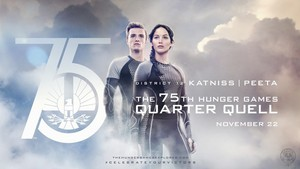 Katniss Everdeen and Peeta Mellark
