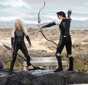 Katniss and Mags
