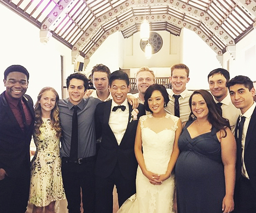 The Maze Runner kertas dinding with a bridesmaid called Ki Hong Lee's Wedding