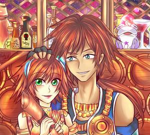 Kisala and Young Dorgengoa
