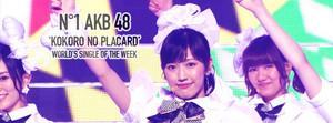 Kokoro no Placard Best Single of the Week sejak World Muzik Awards