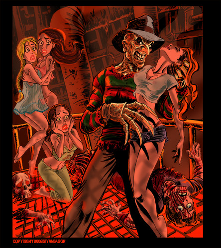 filmes de terror wallpaper with animê entitled Krueger