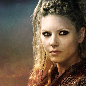 Vikings (TV Series) karatasi la kupamba ukuta possibly with a portrait called Lagertha