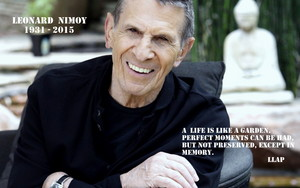 Leonard Nimoy Tribute - Final tweet
