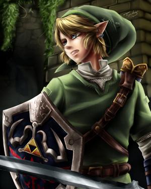 Link - fan art