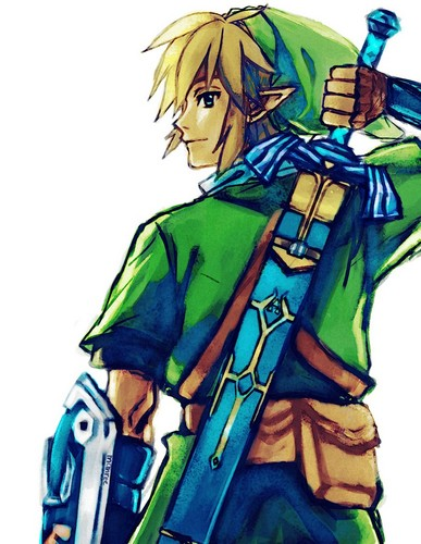 The Legend of Zelda wallpaper with anime entitled Link - Fan art