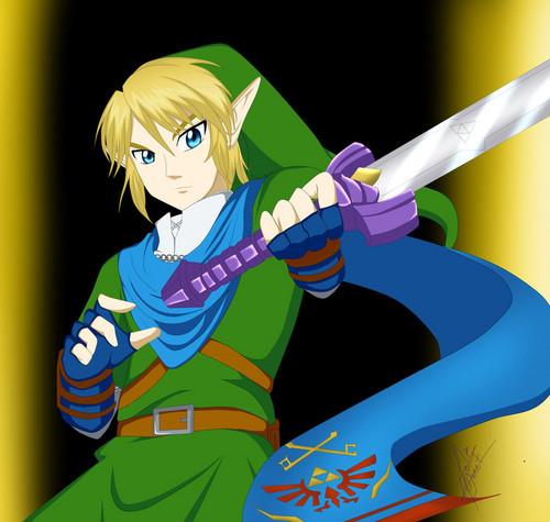 The Legend of Zelda wallpaper called Link - Fan art