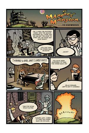 Maniac Mansion is Hazardous