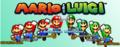 Mario and Luigi banner.