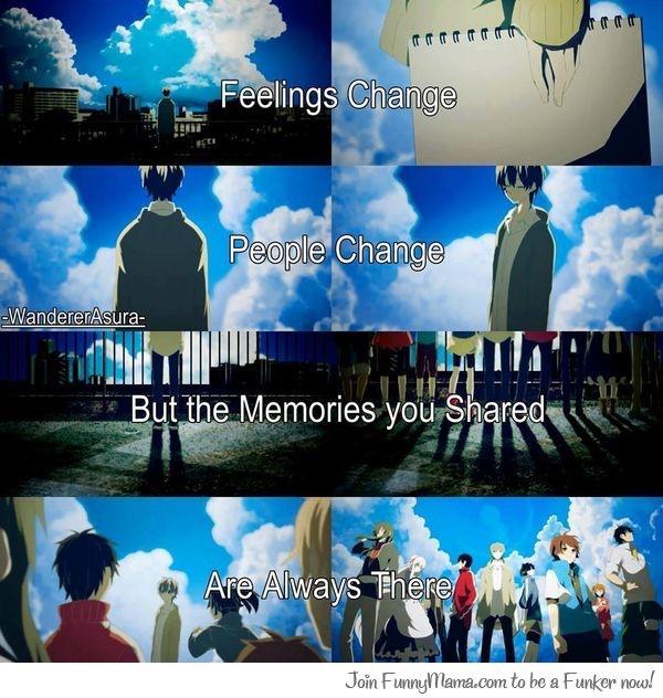 Memories that we have