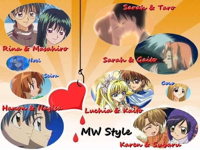 Mermaid Melody Couples