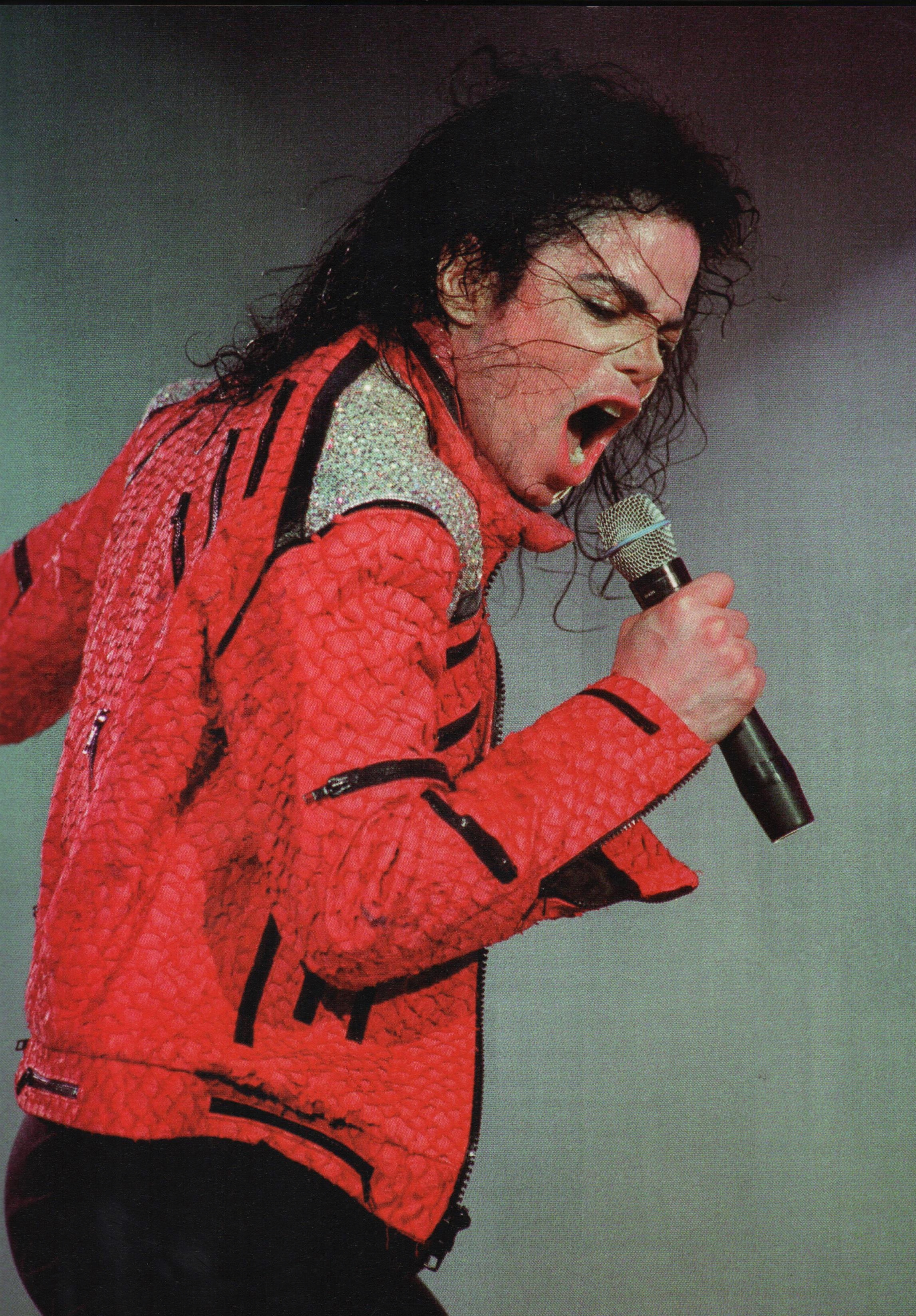 Michael Jackson - HQ Scan - Dangerous Tour?