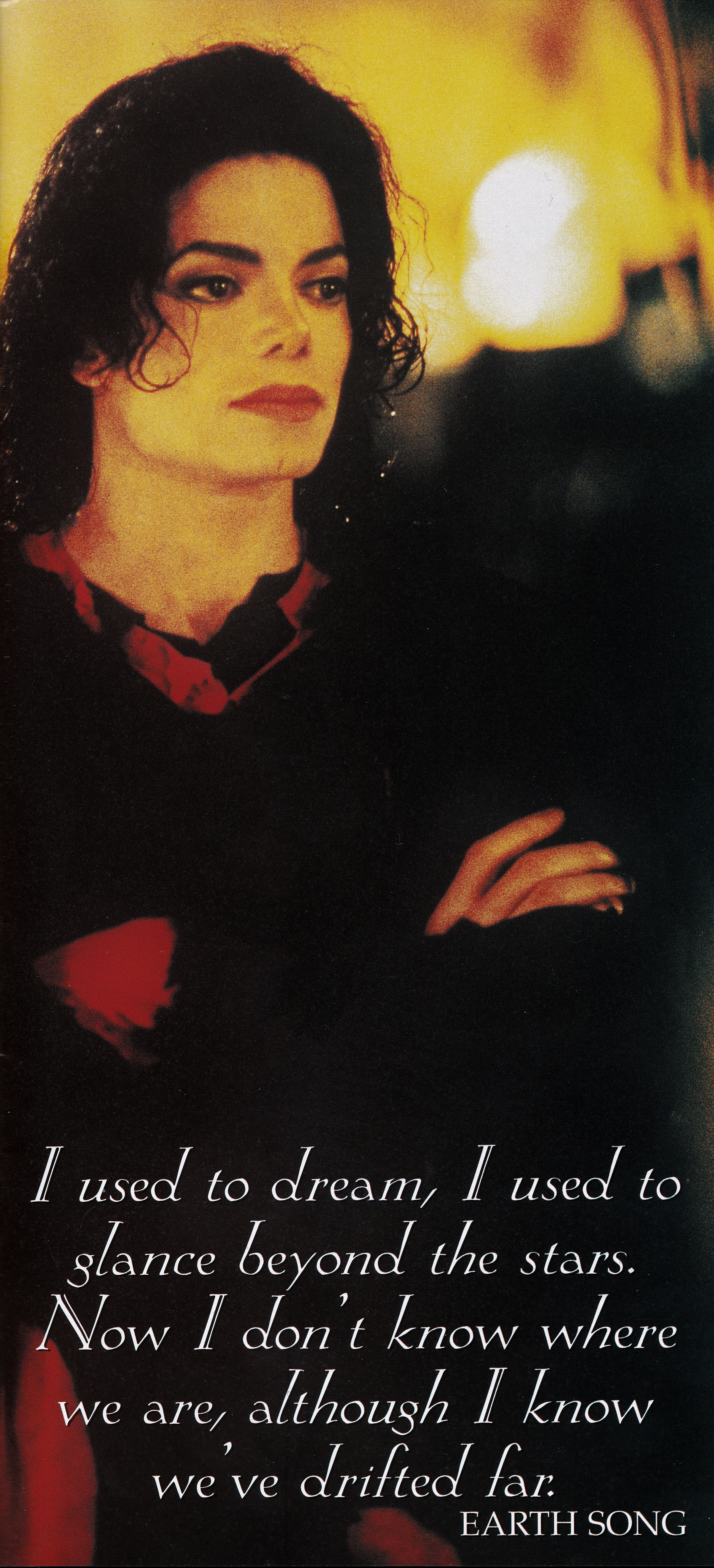 Michael Jackson - HQ Scan - Earth Song