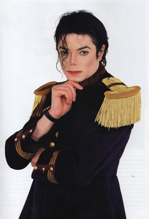 Michael Jackson - HQ Scan - Photosession par Steve Whitsitt
