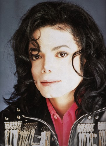 Michael Jackson wallpaper possibly containing a portrait called Michael Jackson - HQ Scan - Spoon Jacket Photosession