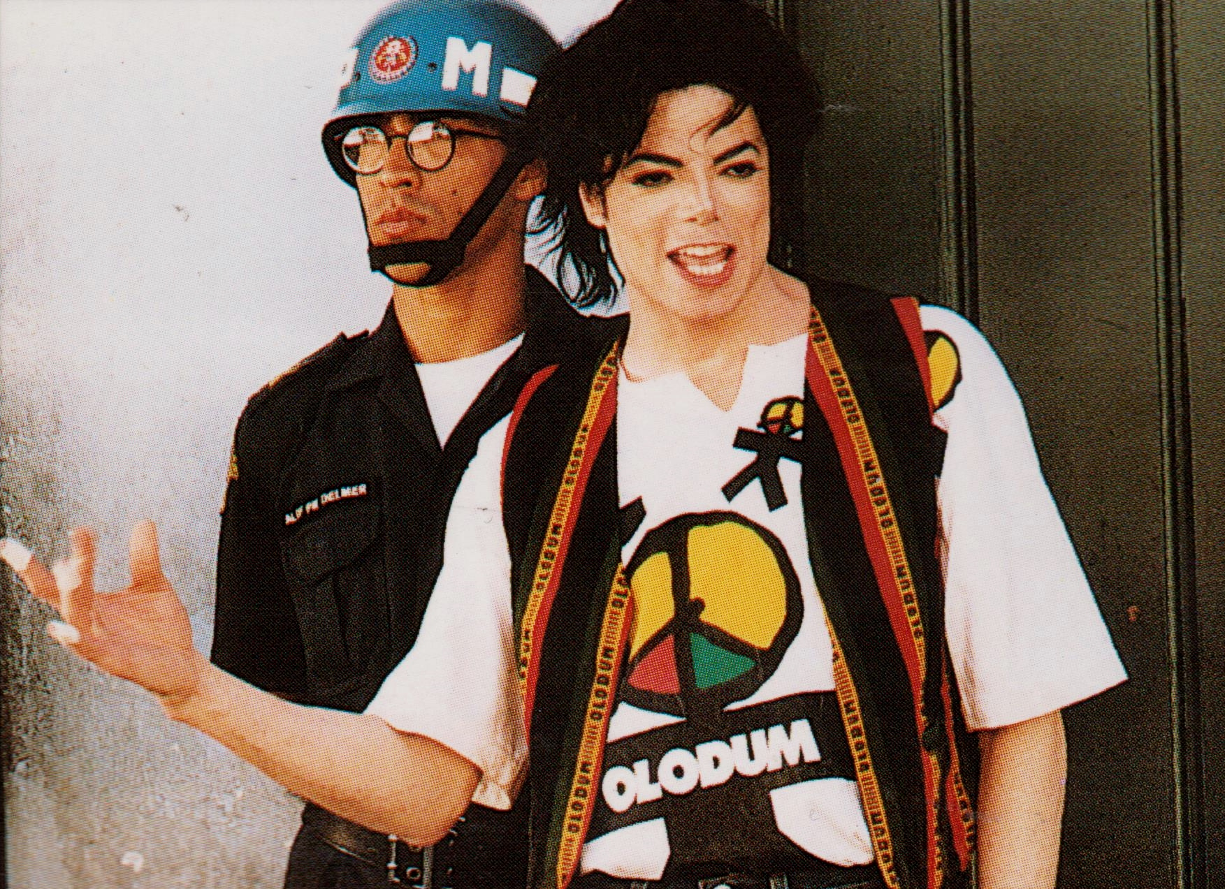 Michael Jackson - HQ Scan - They Don't Care About Us Short Film