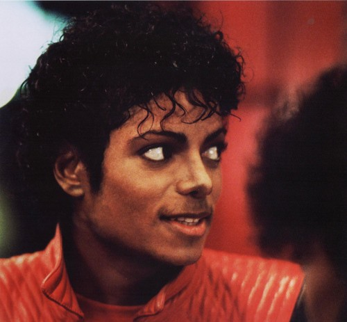 Michael Jackson kertas dinding probably with a portrait titled Michael Jackson - HQ Scan - Thriller Short Film
