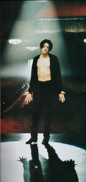 Michael Jackson - HQ Scan - You Are Not Alone Short Film