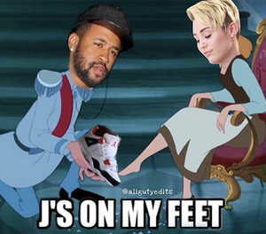 shabiki Art - Miley Cyrus and Make Will Made It in cinderella