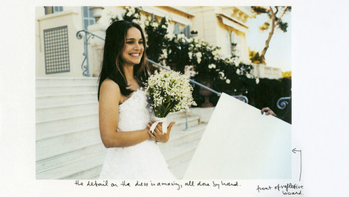Natalie Portman wallpaper containing a bridesmaid titled Miss Dior (2015) - Behind The Scenes