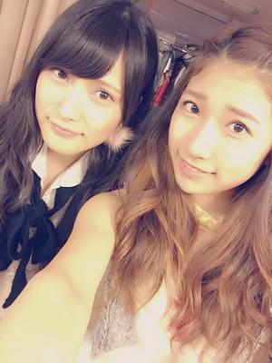 Morikawa Ayaka and Iriyama Anna