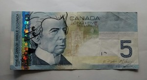 Mozart on Canadian Bank Note