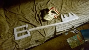 My Bleach Hollow Mask and Kingdom Hearts Keyblade
