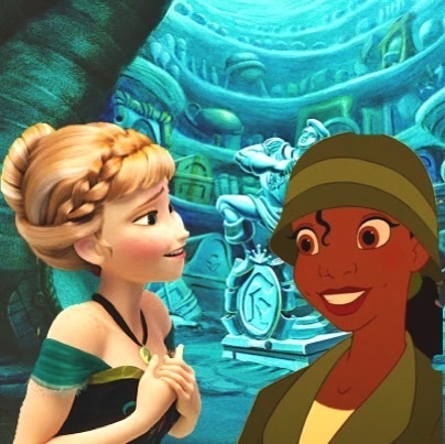 Mason Forever! Hintergrund called My Crossovers - Anna And Tiana.