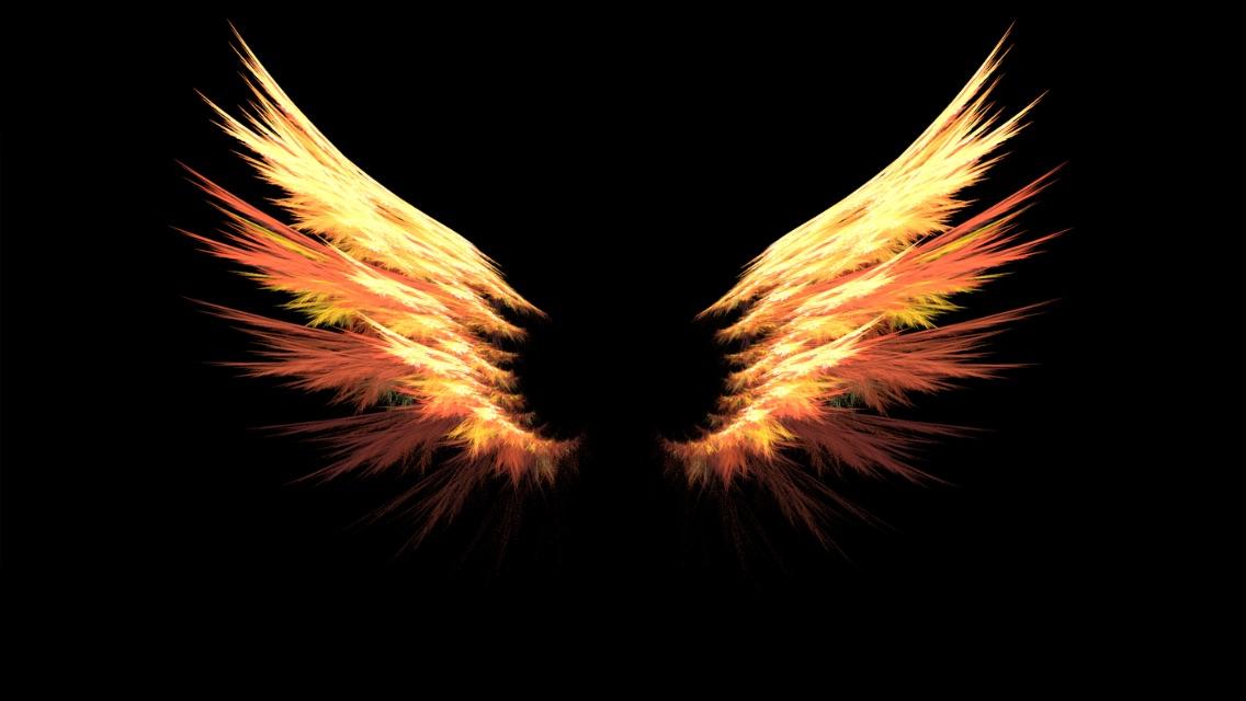 My guardian Bidadari wings
