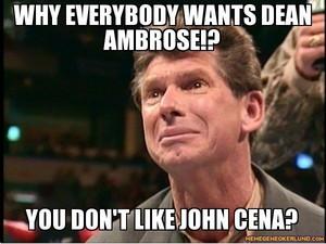 Nobody likes John Cena