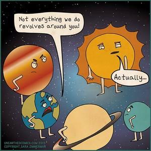 Not everything revolves around 당신