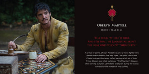 Oberyn Martell Game of Thrones: In Memoriam Book