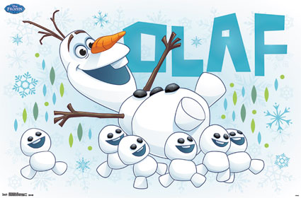 Frozen Fever Hintergrund probably containing Anime entitled Olaf and Snowgies