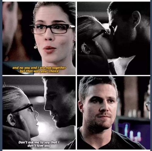 Oliver & Felicity Hintergrund probably containing a business suit called Oliver and Felicity 3x01