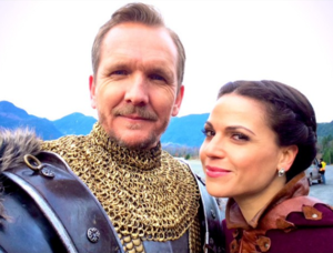 Once Upon a Time - Season 4B - BTS foto
