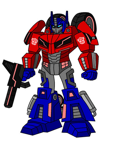 Optimus Prime wallpaper containing Anime titled Optimus Prime