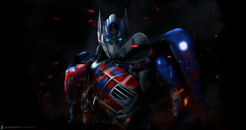 ट्रांसफॉर्मर्स वॉलपेपर entitled Optimus Prime