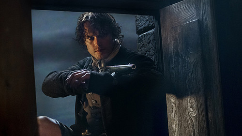 Чужестранка (2014, сериал) Обои entitled Outlander Season 1b promotional picture