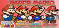 Paper Mario Banner - super-mario-bros photo
