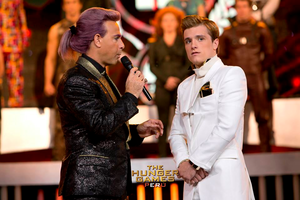 Peeta Mellark and Caesar Flickerman